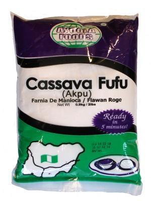 Ayoola Foods Cassava Fufu Akpu 0 9kg Nula Multi